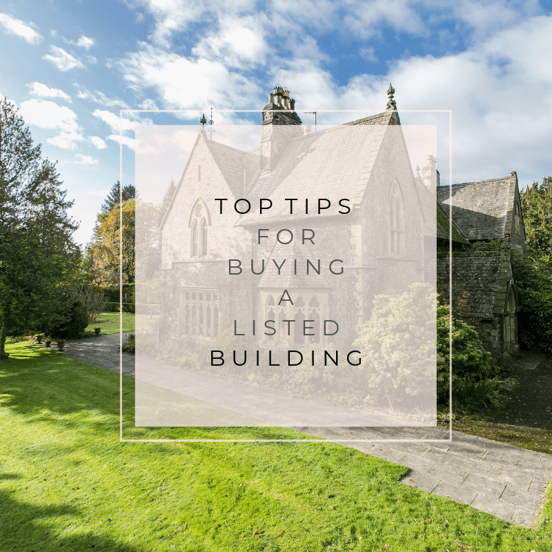 Top Tips For Buying A Listed Building