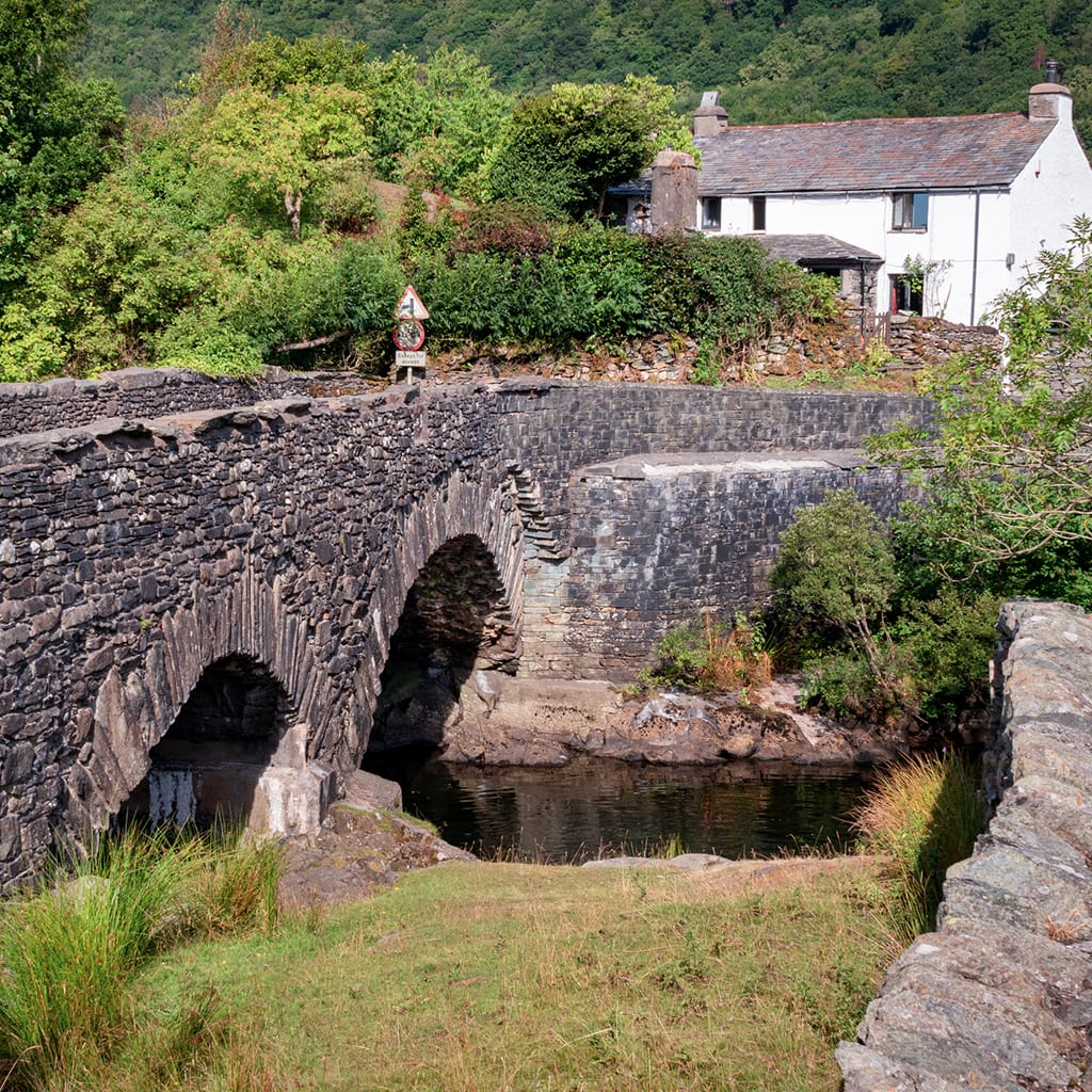 Quaint Village Bridge
